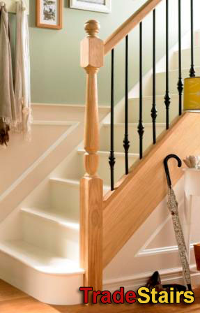 Hybrid Metal Balusters From Elements Stair Parts