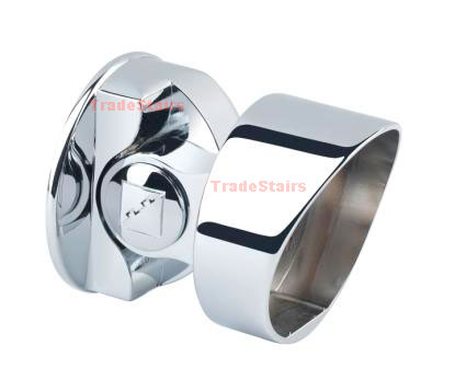 Fusion Chrome storey newel Connector MMSNS