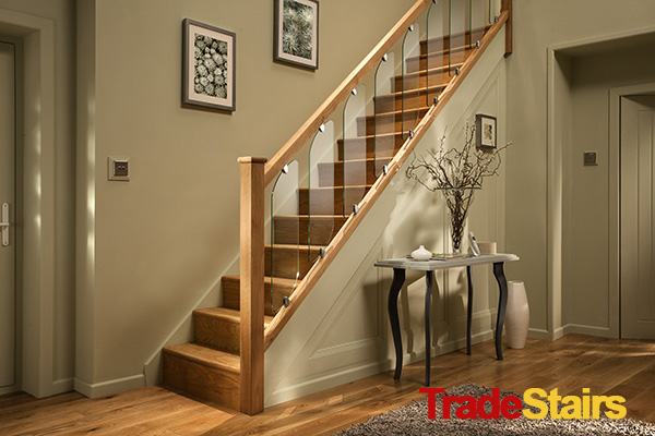 Lighting Basement Washroom Stairs: Axxys Acrylic Stair Parts