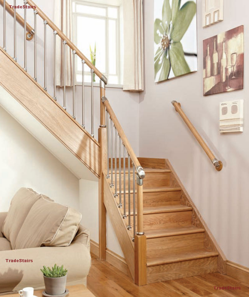 Axxys Evolution Staircase   Oak