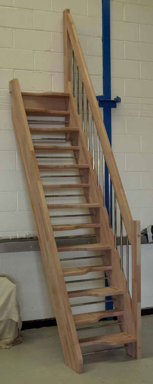 The Beech 40 Space Saver Staircase From Tradestairs Com