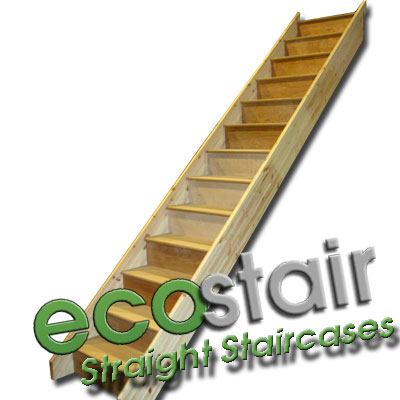 Attractive Ecostair Straight Stairs No Handrail