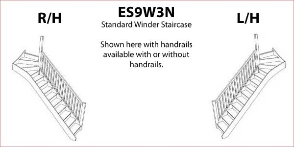 Es9w3n Top Winder Staircase