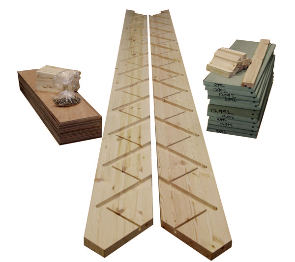 Flatpack 12 Riser Straight Trade Range Staircase