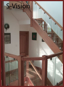 Glass Balustrade S-Vision System