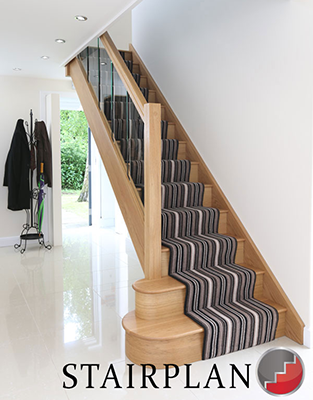 Houston Oak Staircase