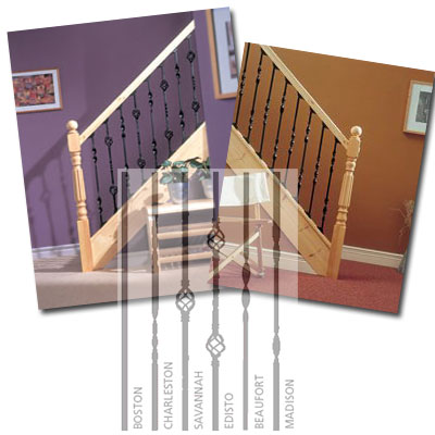Traditional Metal Stair Balusters