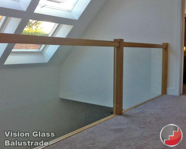 Convert Staircase To Glass Balustrade
