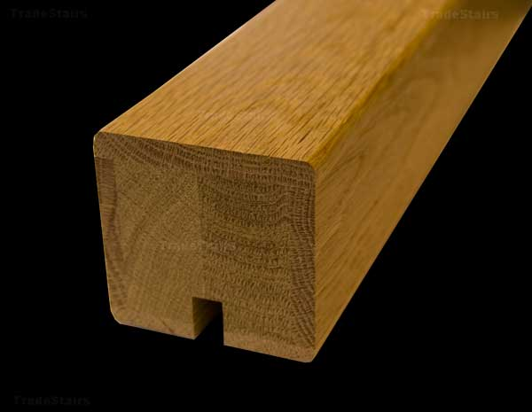 Oak Square Section Handrails Ungrooved