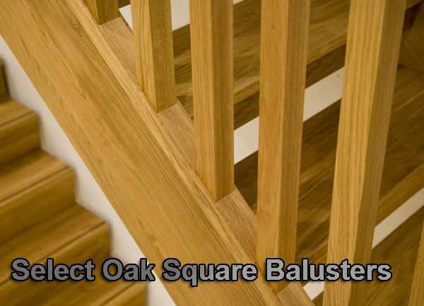 Select Oak Stairparts