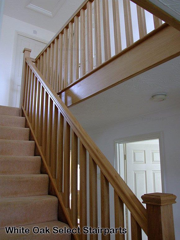 White Oak Newel Posts Select White Oak Stair Parts