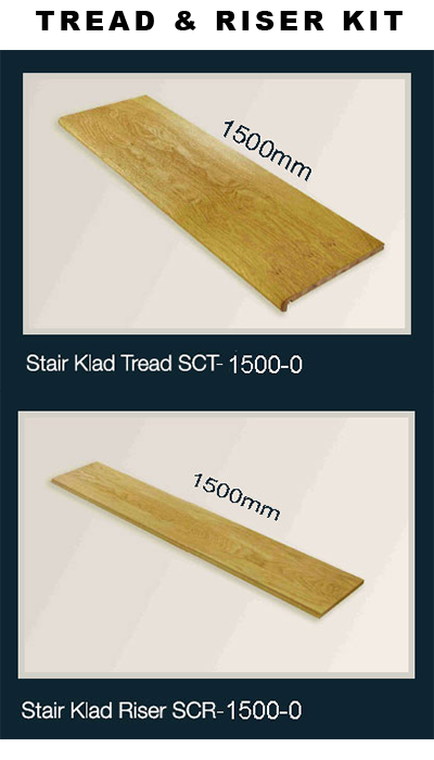 black stair treads