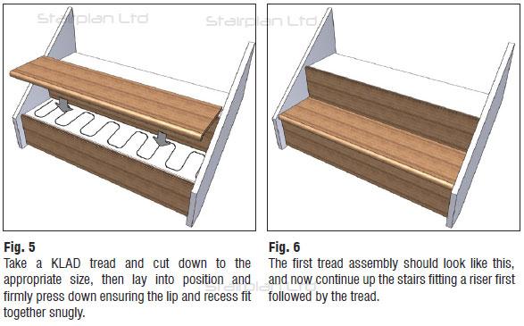 Stair Klad   Oak Stair Cladding