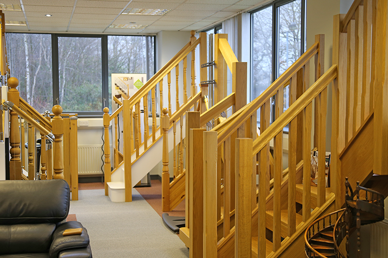 Tradestairs Visit The Staircase Showroom Telford