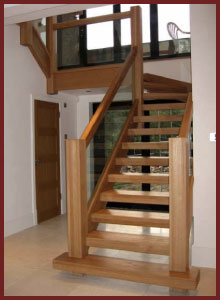 Quality Oak Staircase