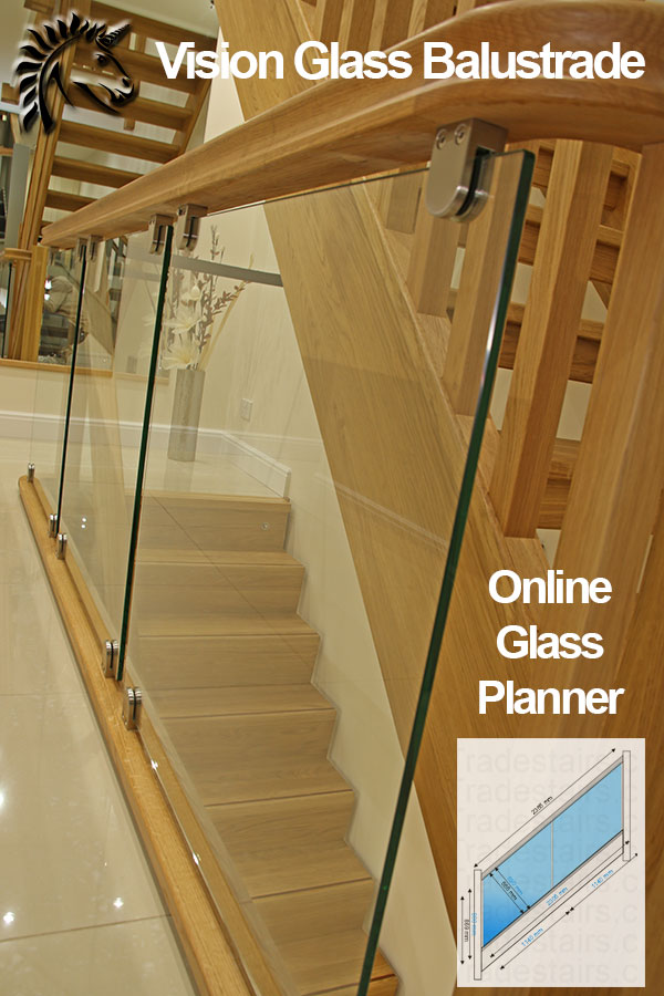 Instant Decking Panels : Glass balustrade balustrading panels stair