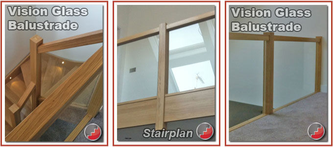 Vision glass Balustrading