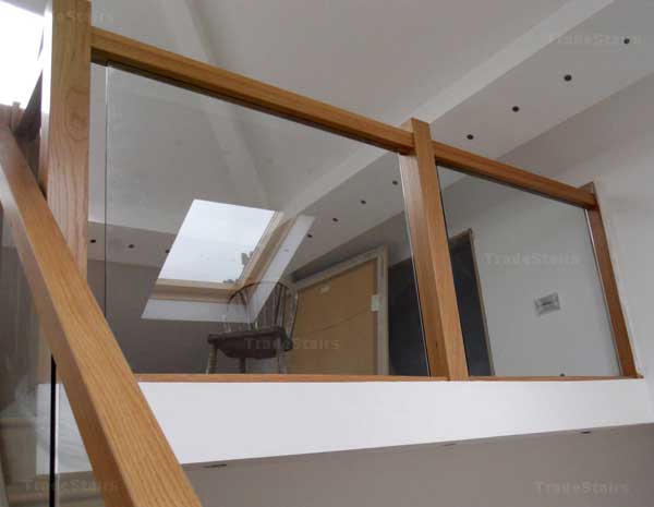 Best Oak Staircases With Glass Panels Most Promising 400 x 300