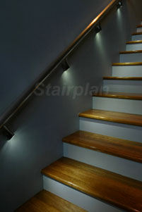 Wall Mounted Lights For Stairs : Illuminated Wall Handrail Handrail Bracket Lights