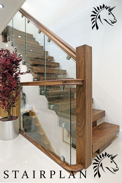 X Vision Staircase In Black Walnut