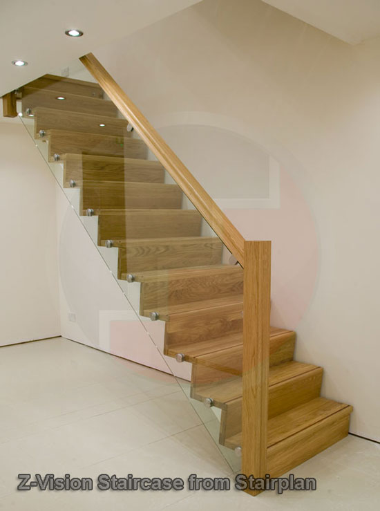 Exceptionnel Preston Oak Staircase Info · Looking For Something More Contemporary ?